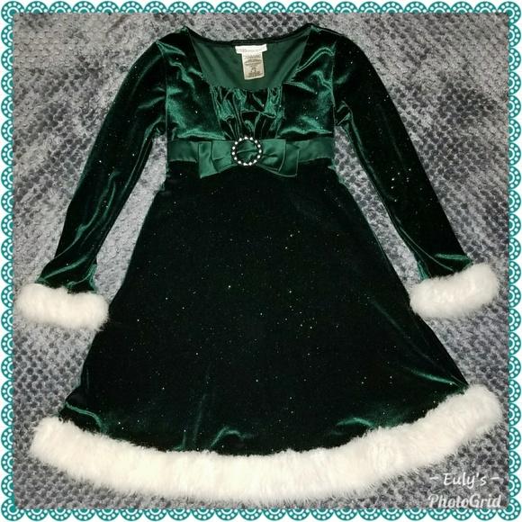 f06c2cc323d Bonnie Jean Girls size 8 Green Christmas Dress. M_5ac3a83b36b9de7744302ffb